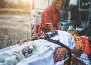 Ambulance serious injury